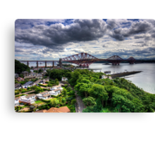 The Bridge from North Queensferry Canvas Print