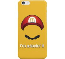 McMario iPhone Case/Skin