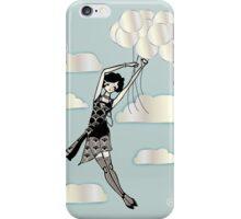 Floating Flapper iPhone Case/Skin