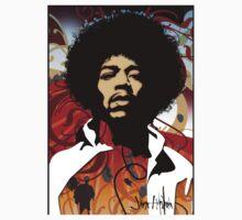 Jimi Hendrix by jozsefsos