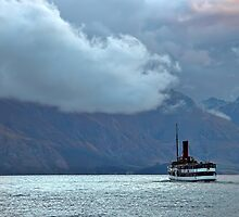 TSS Earnslaw on Lake Wakatipu by tonilouise