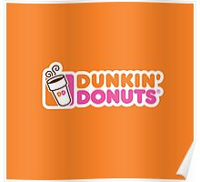 Dunkin Donuts Poster