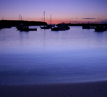 Ulladulla Harbour by Noel Elliot