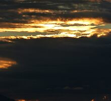 november's sunset III - puesta del sol en noviembre by Bernhard Matejka