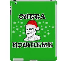 Christmas Outta Nowhere iPad Case/Skin