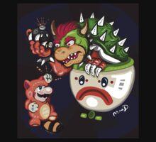 Mario vs Bowser by MaeD