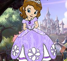 Splattered Sofia the First by LindseyLucy8605