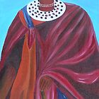Masai Woman by Omary S