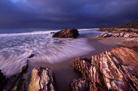 approaching cold front - East Gippsland, Vic. by Tony Middleton
