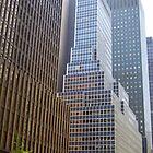 NYC Streetscape by Eleni Verigos