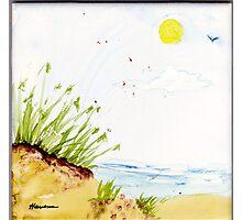 SOME BEACH Photographic Print