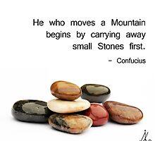 He who moves a Mountain... by Alkimya