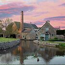 Lower Slaughter by Michael Tapping