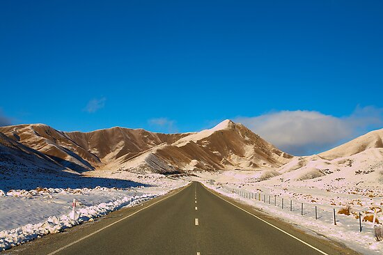 Lindis Pass by Neil