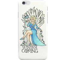 Frozen Winter is Coming iPhone Case/Skin