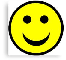 Smiley face Canvas Print