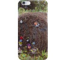 A fancy bale of hay iPhone Case/Skin