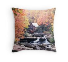 Old Mill Throw Pillow