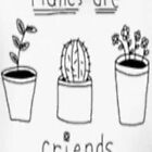 PLANTS ARE FRIENDS by HeyPluto