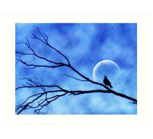 Moonbird Art Print