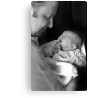 Candid Portrait Canvas Print