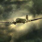 RAF BBMF Dakota  by larry flewers