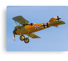 TVAL Albatros D.Va reproduction D.7343/17 Canvas Print