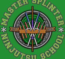 Master Splinter's Ninjutsu School by DrRoger