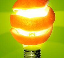 Orange Lamp by ccaetano
