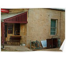 Hotel,Outback Tibooburra,N.S.W. Poster