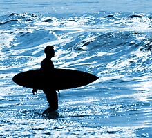 Surfer Silhouette by ccaetano