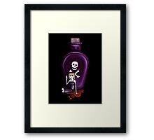 18 seconds Framed Print