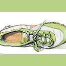 Green Sneaker by mrana