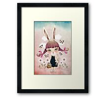 Sugar Bunny Framed Print