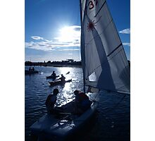 West Kirby Boating Lake Photographic Print