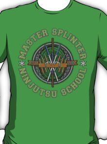 Master Splinter's Ninjutsu School (Vintage) T-Shirt
