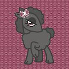 Black skull bow sheep by ImpyImp