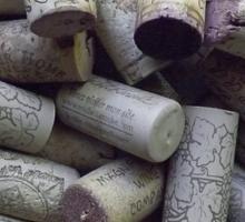Wine Corks Sticker