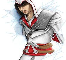 Ezio caught in Limbo by murderwear
