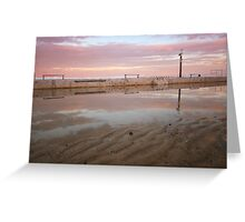 Merewether Baths 2 Greeting Card
