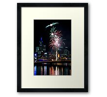 Crown Casino 10th Anniversary Celebrations Framed Print
