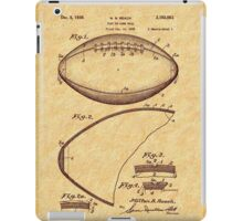 1939 Football Patent iPad Case/Skin