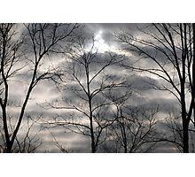Dark Clouds  Photographic Print