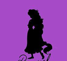 Rapunzel w/ Autograph by gretchybear