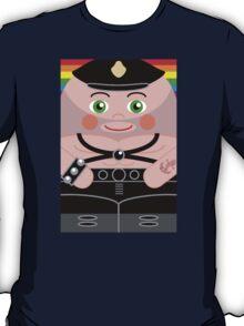 Leather Man Hero Hugger T-Shirt