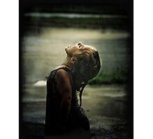 First Taste Of Rain Photographic Print