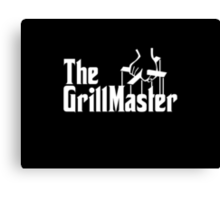 The Grill Master Canvas Print