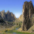 smith rock by Bruce  Dickson