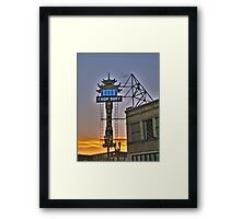 Hung Far Low Framed Print