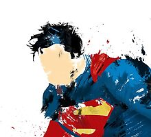 Man of steel abstract  by blazedog1134